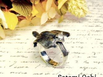 空飛ぶエゾモモンガのリングの画像