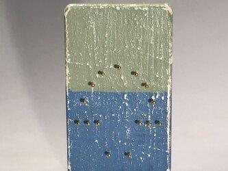 キノコ きのこ 織り板 織り木枠 シャビーシック仕上げ 18の画像