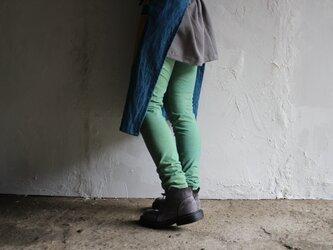 草木染めオーガニックコットンレギンス《6カラー 》の画像