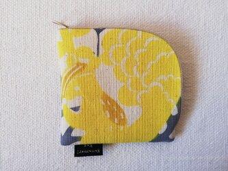 型染め 財布「森の動物園」の画像