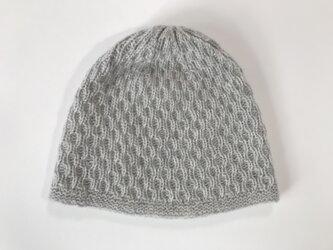 【座敷わらし様ご注文品】カシミヤの帽子の画像