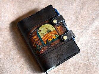 手帳カバー A-6 「窓辺」の画像
