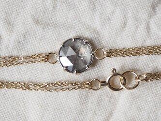 フルムーンナチュラルダイヤモンドブレスレットの画像