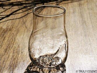 【 SOLD OUT 】無色透明のグラス - 「KAZEの肌 」#353・ 高さ12cmの画像