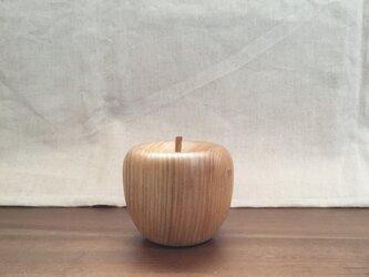 (受注制作)  木のりんご 大の画像