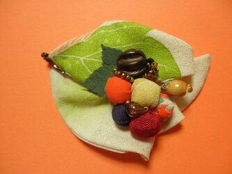 ブローチ「森の贈り物」の画像