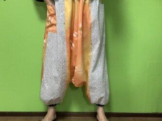 サルエルパンツ de 着物 春隣の画像