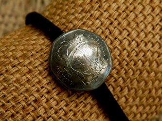#H124  Botswana Coin Hair Elasticの画像