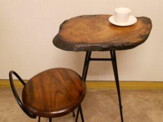 ひとりカフェテーブルイスセット12-22の画像