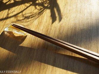 4個セット ● ガラスの箸置き -「金色のガラス 」・5.5cm x 3cmの画像