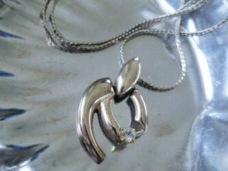 シルバーモチーフネックレス vintage necklace <NE1-L19>の画像