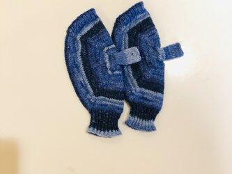 №239 手編みミトン送料込 の画像