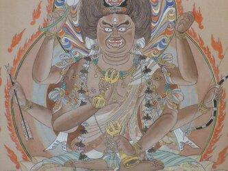 愛染明王座像(c-1)の画像