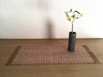 草木染め 手織りテーブルセンター TS03の画像