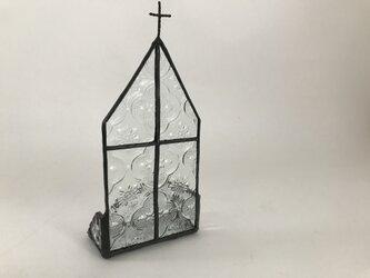 【kさまオーダー品】ステンドグラス 教会ジュエリートレイの画像