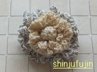 【Sold】お花畑のコサージュ33の画像