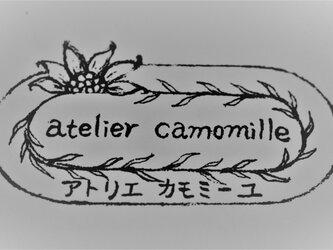 D様オーダー品「森の上の月リング」と「しろつめ草の花お姫様リング」の画像