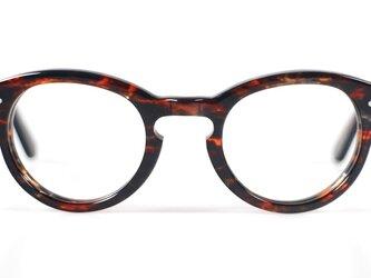手作りセルロイド眼鏡T-033-HHの画像