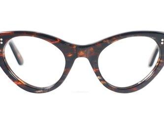 手作りセルロイド眼鏡T-034-HHの画像