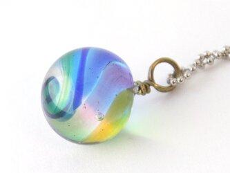 小粒の虹のペンダントの画像