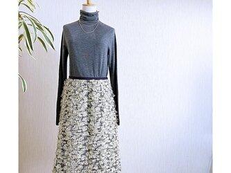 ドイツ製生地Aラインスカートの画像