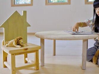№12 こども椅子   (お空シリーズ)より⋆おうち* グラスグリーンの画像