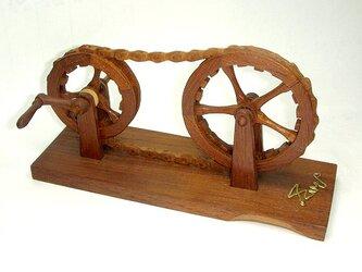 木製・2連輪/ [ しみじみ車 ]の画像