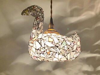 ジュエルナイト『恋する白鳥』クリスタルピンクの画像