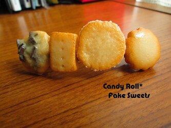 お菓子屋さんのクッキーバレッタの画像