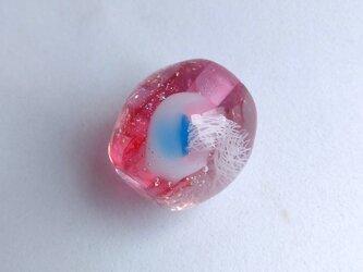 クラゲのとんぼ玉 ピンク8の画像