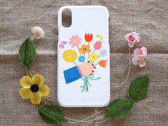 【iPhone/Android】側表面印刷*ハード型*スマホケース「gift」の画像