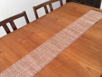 草木染め 手織りテーブランナー TR01の画像