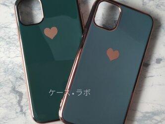 即納アリ*スマホケース ミラーハー 水色 iPhoneケー iphone11 iPhoneXR iPhone11proの画像