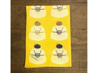 手ぬぐい[鏡餅]黄色の画像