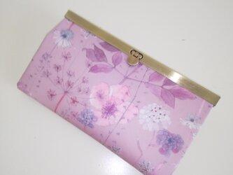 【再販】リバティ ラミネート  Irma  長財布の画像