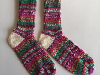 手編み靴下【Rellana ミシシッピ 1164】の画像