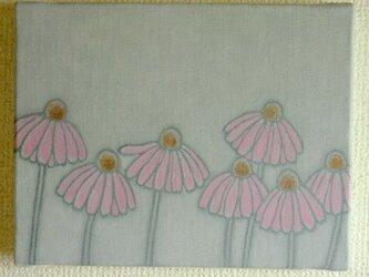 【原画】花は少女(エキナセア)の画像