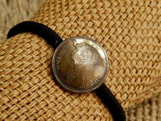 #H126 Egypt Coin Hair Elasticの画像