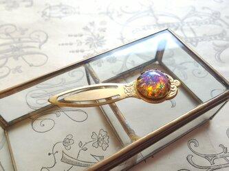 ヴィンテージ Pink-Opal BookMark(しおり)の画像