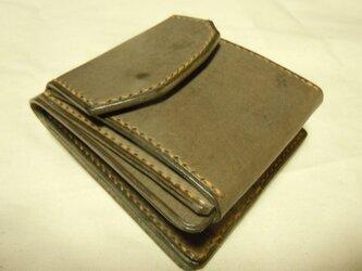 バタフライショートウォレット スライドマチ 2つ折り財布の画像