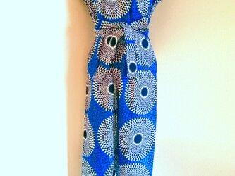 オールインワン(裾スリム)/アフリカ布の画像
