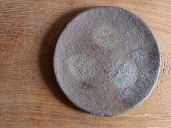 窯変 丸皿の画像
