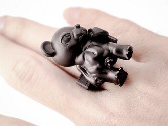 """ダビデ像 """"熊"""" / David di Michelangelo """"BEAR"""" ringの画像"""