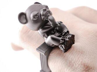 """考える人 """"熊"""" / Le Penseur """"BEAR"""" ringの画像"""