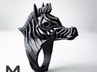 縞馬 / ZEBRA ringの画像
