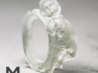"""小便小僧・漏 """"透"""" / Manneken Pis """"Transparent"""" ringの画像"""
