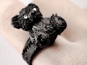 Sit down, tiny baby / Bear ringの画像