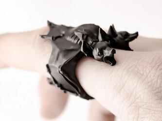 "OBAKEDAZO"" Twin head bat""/RINGの画像"