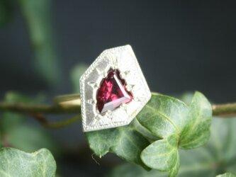 Fragment Rhodlite Garnet ring FMR-11の画像