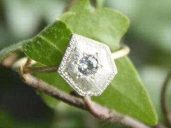 Fragment White Sapphire ring FMR-12の画像